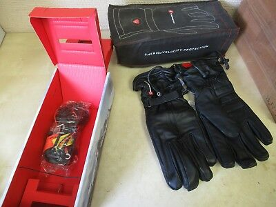 Gerbing Heated Gloves - G3 Leather Motorcycle / Motorsports - Mens 2Xl Black
