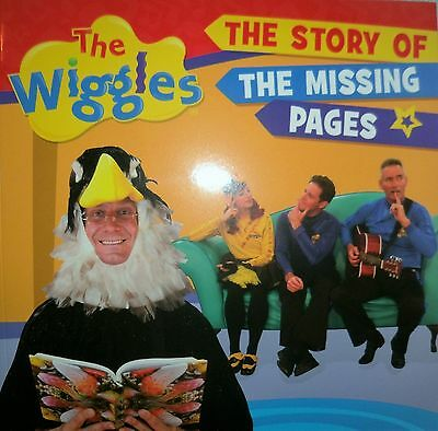 children's book.THE WIGGLES - THE STORY OF THE MISSING PAGES...ne3