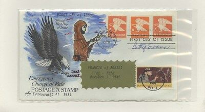 US - Hand-painted FDC Lot # 80