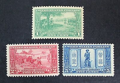CKStamps: US Stamps Collection Scott#617 618 619 Mint NH OG