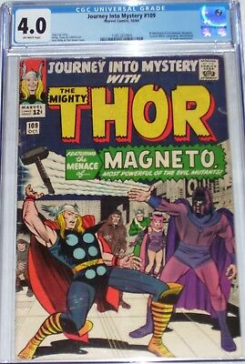 Journey into Mystery #109 CGC graded 4.0 Thor, Scarlet Witch, Toad & Magneto