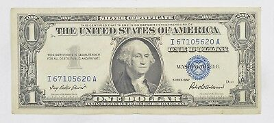 Crisp - 1957 United States Dollar Currency $1.00 Silver Certificate *934