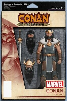 Conan The Barbarian #2 Christopher Action Figure Variant Cimmerian Returns 11619