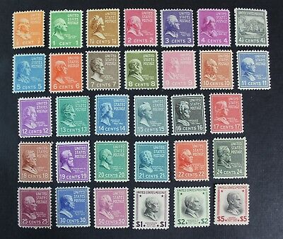 CKStamps: US Stamps Collection Scott#803-834 Mint NH OG