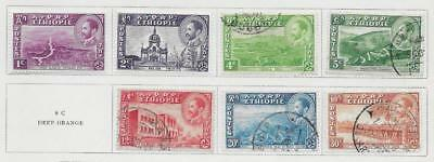 7 Ethiopia Stamps from Quality Old Album 1947-1949