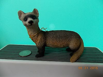 Ferret Figure  resin