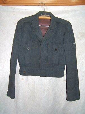 ww2 wwii royal canadian air force battle blouse no.2 size 7 1937 rcaf canada