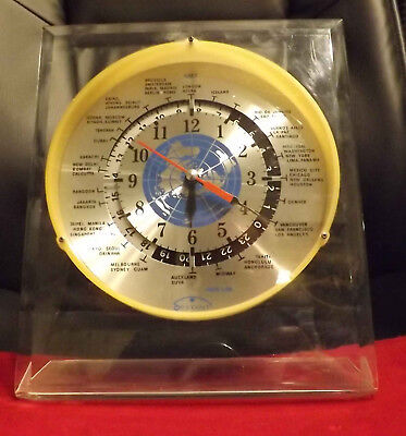 Sextant World Clock - Complete World Time Immediately Visible