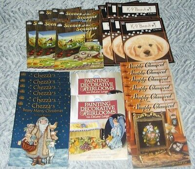 26 New Decorative & Tole Painting Pattern Books