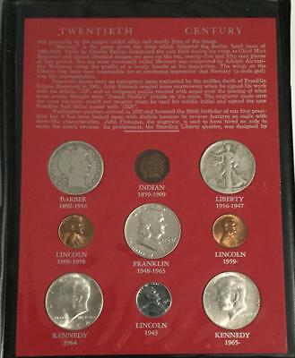 1902-1969 Twentieth Century SILVER Coin Collection! Old US Coins!