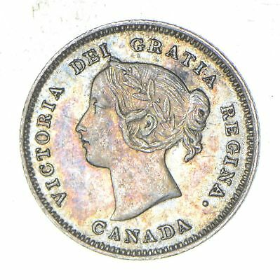1900 Canada 5 Cents - Historic World Coin *948