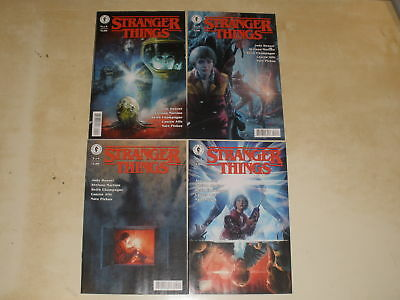 Dark Horse Comics  STRANGER THINGS 1-4 COMPLETE SET ALL COVER A