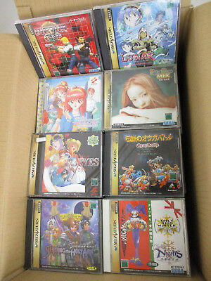 WHOLESALE SEGA SATURN Lot of 100 FREE Shipping 1192ss