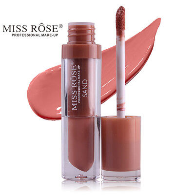 Miss Rose Waterproof Long Lasting Lip Liquid Matte Lipstick Lip Gloss Makeup