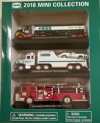 2018 Hess Collectors Edition Mini Trucks Sold Out