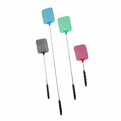 ASR Outdoor Extendable Fly Swatter Durable Telescopic Pole Anti Slip