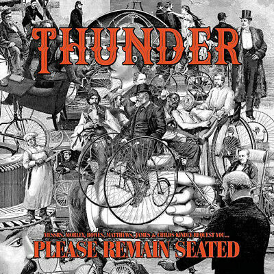 Thunder - Please Remain Seated Vinyl LP (2) Bmg Rights Management NEW