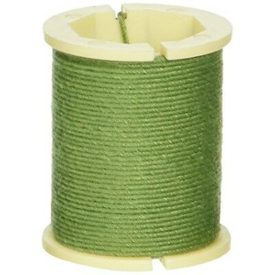 Cloth Covered Spool Wire 32 Gauge 30'-green