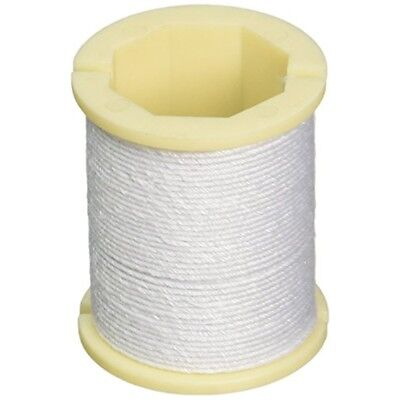 Cloth Covered Spool Wire 32 Gauge 30'-white