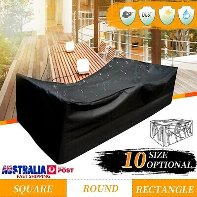 10 Size Waterproof Outdoor Patio Garden Furniture UV Rain Snow Cover Table Chair