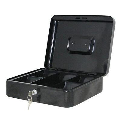 Combination Lock Box Portable Safe Box Cash Case for Home Car