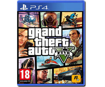 Videogioco Gta 5 Ps4 Italiano Grand Theft Auto Play Station 4 Gta V Nuovo