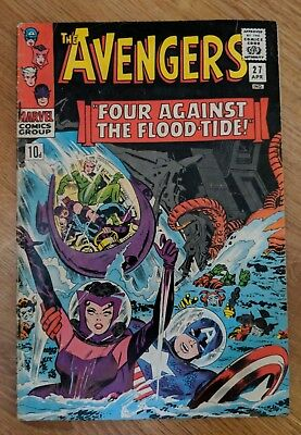 Avengers 27 VF- silver age 1966 Stan Lee Don Heck