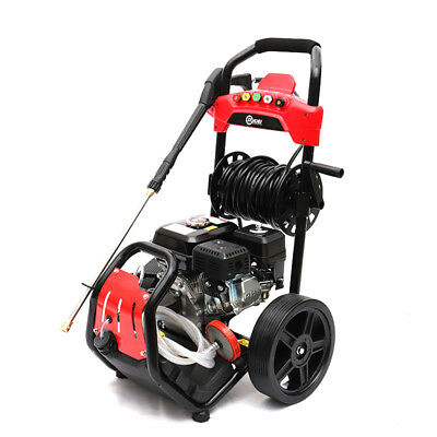 High Power Petrol Gasoline Pressure Washer Cleaner with Gun 20M Hose max 3950PSI