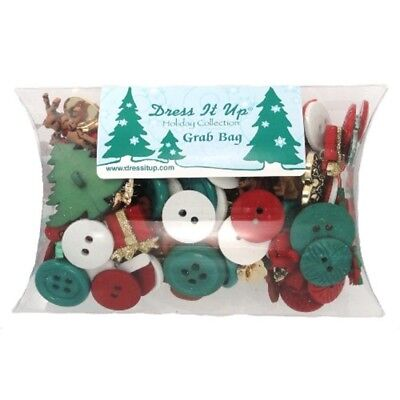 Dress It Up Embellishments Grab Bag-christmas
