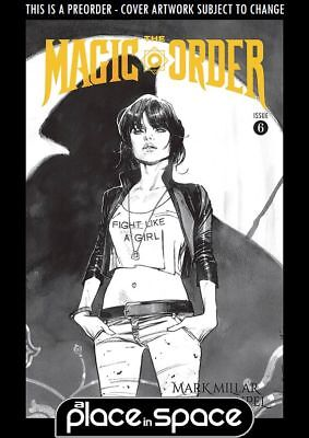 (Wk07) The Magic Order #6B - B&w Variant - Preorder 13Th Feb