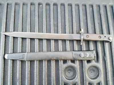 WWII India Indian NWR 44 North West Railway 1944 Enfield bayonet No1 MkIII MK3