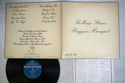 ROLLING STONES BEGGARS BANQUET LONDON GP-1061 Japan VINYL LP