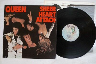 QUEEN SHEER HEART ATTACK ELEKTRA P-8516E Japan VINYL LP