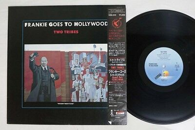 FRANKIE GOES TO HOLLYWOOD TWO TRIBES ISLAND/ZTT 13SI-242 Japan OBI VINYL LP