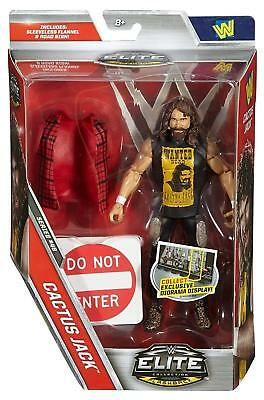 Wwe Wrestling Figure Mattel Elite Sycho Sid With Removable Vest