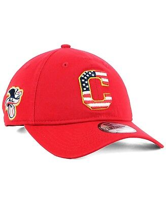 2b45b87201d New Era Cleveland Indians MLB Stars   Stripes 4th of July 9Twenty Hat  Baseball