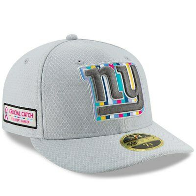 704249612d38d5 New Era New New York Giants Low Profile 59Fifty Crucial Catch NFL Hat  Intercept