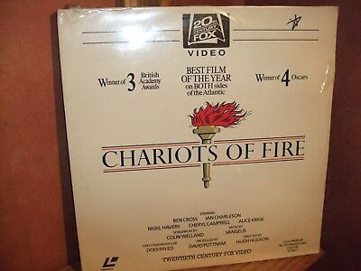 Chariots of Fire - LASERVISION DISC - VERY RARE- Still sealed