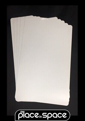 Comic Dividers - White - Pack Of 5 - Archival Quality & Acid Free