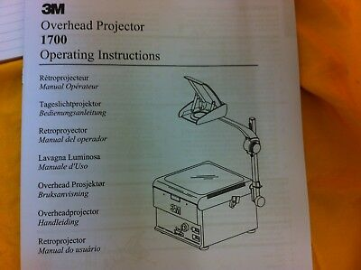 3M Overhead Projector 1705, boxed looks unused ##??under224JM