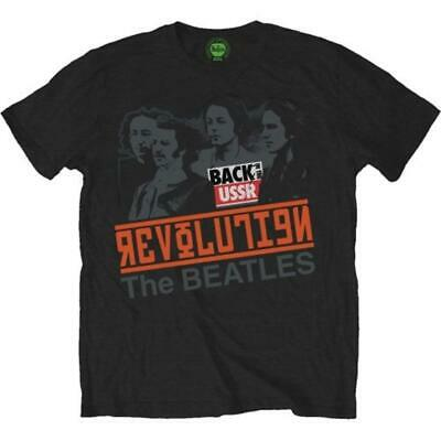 Beatles (The): Revolution, Back In The Ussr (T-Shirt Unisex Tg. M)