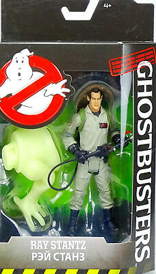 "GHOSTBUSTERS RAY STANTZ 5"" INCH/ ca.15 CM ACTIONFIGURE (CLASSIC MOVIE) MATTEL"