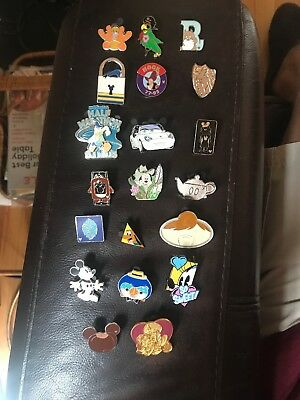 Disney Trading Pins Lot Of 20 No Doubles