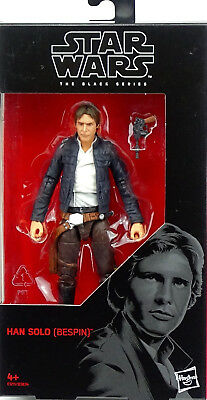 "Star Wars Black Series Han Solo Bespin ""tesb"" Actionfigure 6"" Inch Hasbro #63 A"