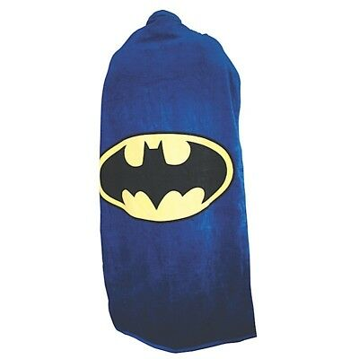 Official Batman Logo Dc Comics Cape Bath Beach Towel New With Tags