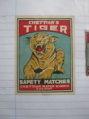 Old Indian Packet Size Matchbox Label.design 2.