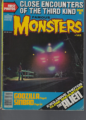 Famous Monsters #141 Close Encounters of the Third Godzilla Sinbad Star Wars