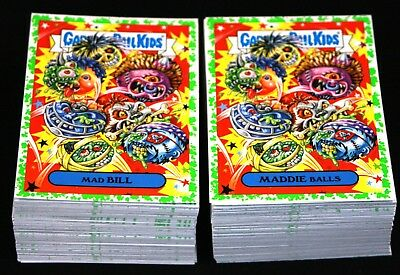 2019 Garbage Pail Kids We Hate The 90's Complete Green Puke Set 220 Cards