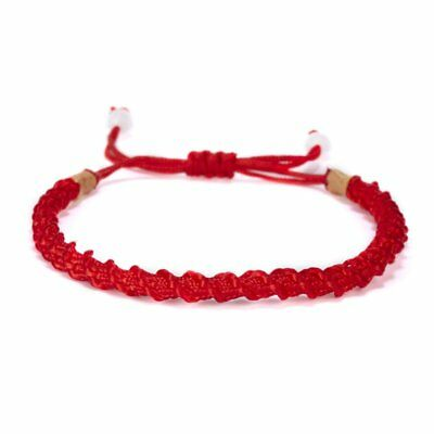 Fashion Lucky Red Rope Handmade Weave Women Bangle Bracelets Chain Jewelry Party