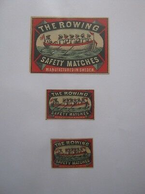3 Old Swedish Matchbox Labels.design 3.